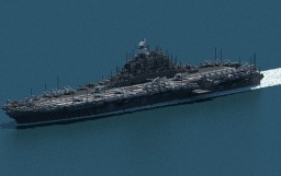 [AU] Kaga Class Amphibious assault ship Minecraft