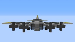 "Boeing B-17 ""Flying Fortress"" Minecraft"