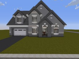 Family Home #1 Minecraft Map & Project