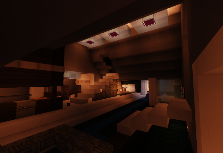 Hive Modern House Minecraft Project