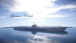 German U-boat Minecraft Map & Project