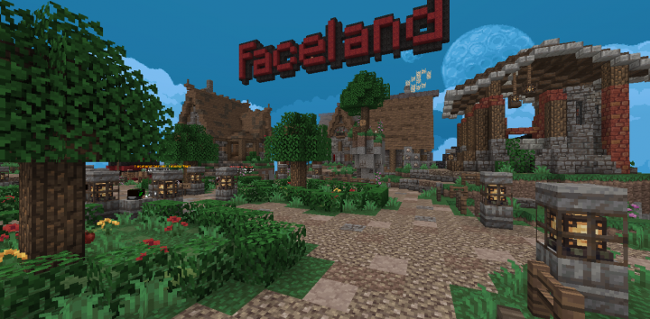 Faceland - Ultimate RPG! Minecraft Server