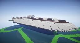 Movecraft Mega Air Battleship - Amagi Minecraft Map & Project