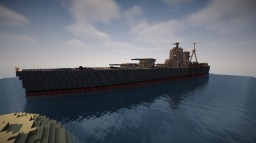 HMS Rodney Of The British Royal Navy Minecraft Project