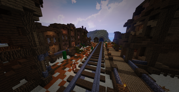 Ghost's Town (Download / Realms) Minecraft Project
