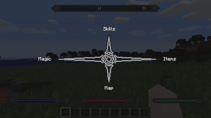 Skyrimcraft Cross Menu