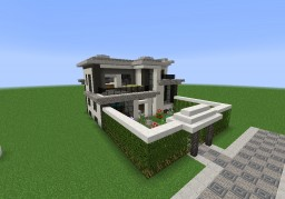 Small Storey House - Modern Minecraft Map & Project