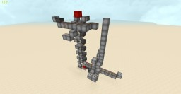 Super SMP Friendly Minecart Elevator Minecraft Map & Project