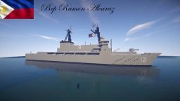 BRP Ramon Alcaraz ex.USCGC Dallas Minecraft Map & Project
