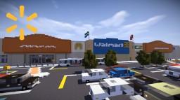 Walmart Interior   Blenhiem   Esterlon Minecraft Map & Project