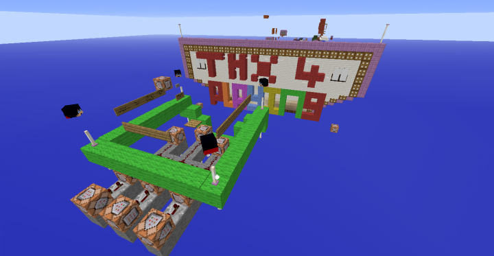 End Of Map With Exposed Redstone