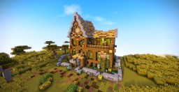 Rustic House Minecraft Map & Project