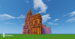 Gothic cathedral Minecraft Map & Project