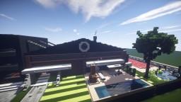maison moderne hangar rénové Minecraft Map & Project