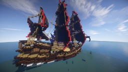 Two 1800's Ships Minecraft Project