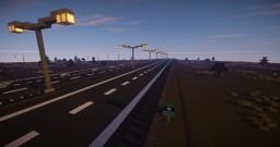 Dutch highway, snelweg, autobahn, otoyol Minecraft Project