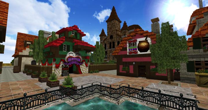 Zelda Castle Minecraft Minecraft Castle Map Wallpapers