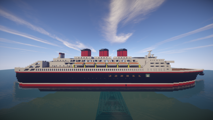 S CRUISE SHIP Minecraft Project - 1930s cruise ships