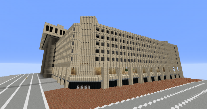 Washington D C Minecraft Project