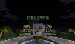 CREEPER MANSION Minecraft Project