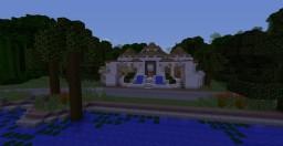 Jurassic Park Isla Nublar Minecraft Map & Project