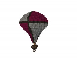 Simple hot airballoon :) #WeAreConquest Minecraft Map & Project