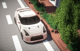 Nissan GT-R (R35 2011Model) Minecraft Map & Project