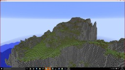 [Downloadable] Fancy Sloped Mountain Minecraft