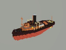 steam tug Minecraft Map & Project