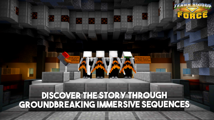 Discover the story through groundbreaking immersive sequences!