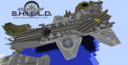 S.H.I.E.L.D. Helicarrier 88 refit Minecraft Map & Project