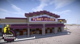 Planet Fitness Interior   OR Minecraft Map & Project
