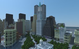 New York City in 2001 (New Download and Video!) Minecraft Map & Project