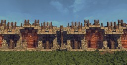 Medieval bridge Minecraft