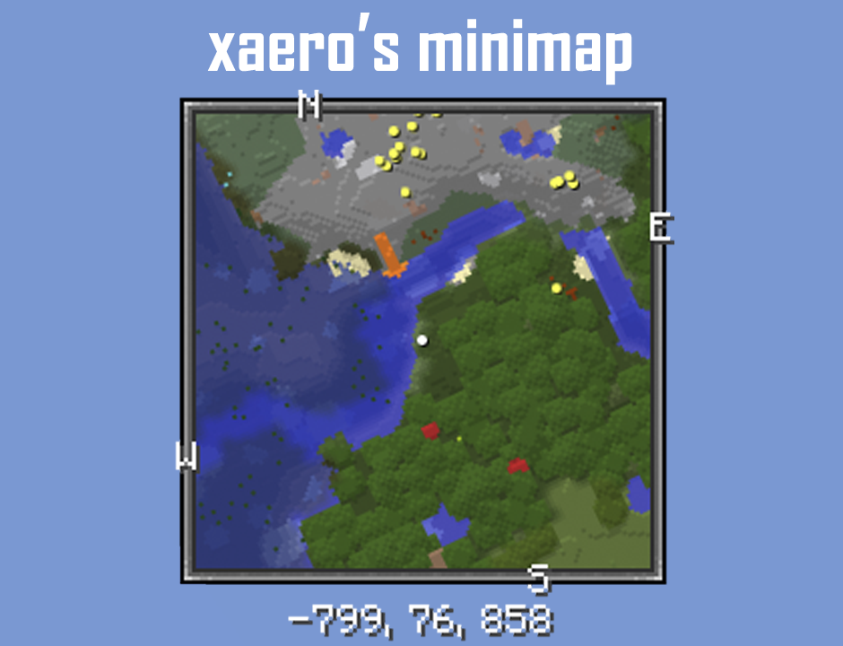 Xaeros Minimap Forge Minecraft Mod - Journey map para minecraft 1 10 2