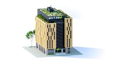 Mitsu - Office Building  | TheVisual_Play Minecraft Project
