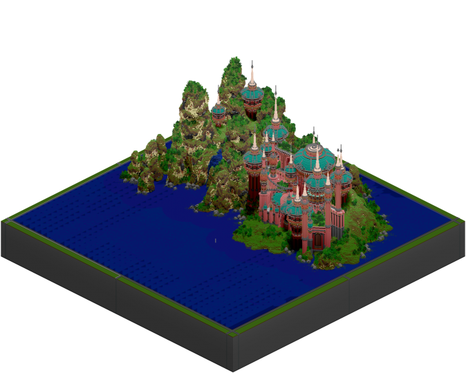 Cool Isometric perspective thanks to Glowfisch