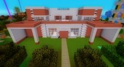 Modern Twin Villas Minecraft Map & Project