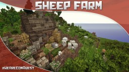 Sheep Farm - Thank you on 100 subs! [#WeAreConquest] Minecraft Map & Project
