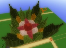 A Gigantic Flower Minecraft Map & Project