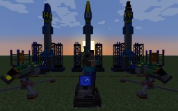 [1.7.10] DefenseTech v1.0.1 - missiles and high-tech explosives! Minecraft
