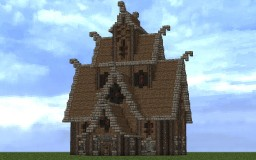 Nordic Style Mansion Minecraft Map & Project