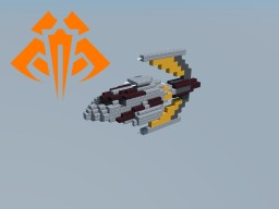 Skipray Blastboat (Zann Consortium Fleet) Star Wars Minecraft Map & Project