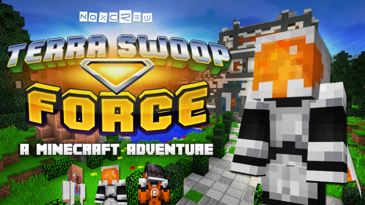 Terra Swoop Force - Noxcrews new Minecraft Arcade Adventure Map!