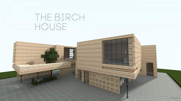 The Birch House Minecraft Project
