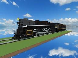 Locomotive Berkshire 2-8-4 Minecraft Map & Project