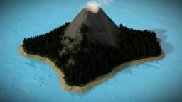 « Vulcan Island - Vulcanic Island Landscap » Minecraft