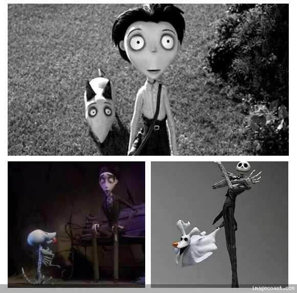 How Nightmare Before Christmas Corpse Bride And Frankenweenie Are
