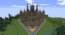 Small faction spawn schematic Minecraft
