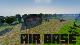 Military Air Base (20th century) Minecraft Project